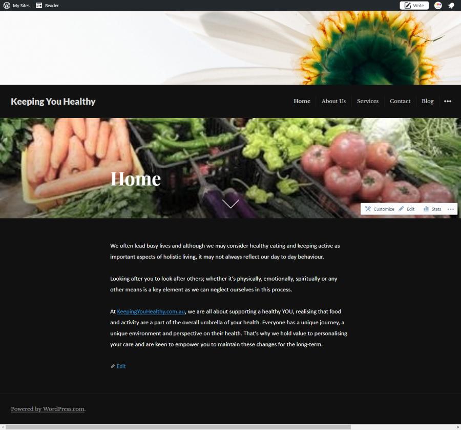 Keeping You Healthy – website