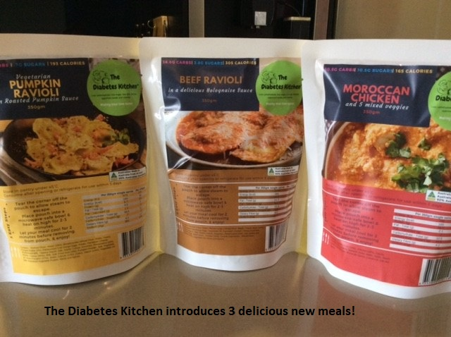 The Diabetes Kitchen new meals